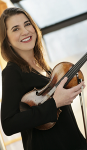 """""""I love playing in this orchestra!"""" - Nadja Salerno-Sonnenberg"""