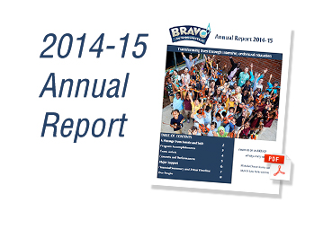 Bravo Youth Orchestra's 2014-2015 Annual Report